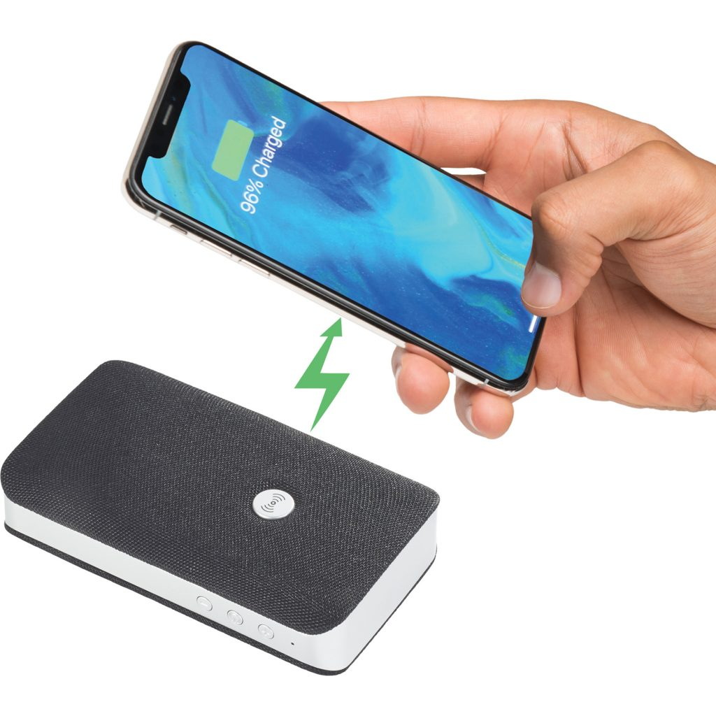 Palm Bluetooth Speaker/Wireless Charger
