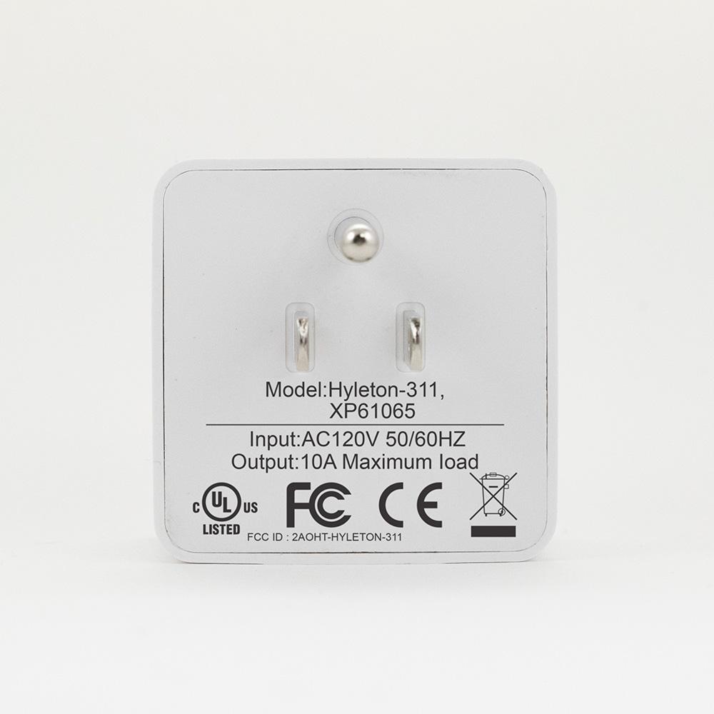 Smart Wally Plug Back White