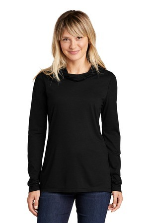 Sport-Tek® Ladies PosiCharge® Tri-Blend Wicking Long Sleeve Hoodie