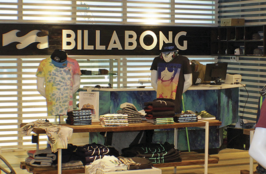 Convenio Billabong