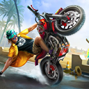 Freestyle Moto stunts Racing