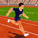 Athletics Running Race 3D