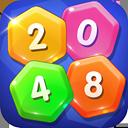 2048 Hexagon Elimination