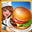 crazy cooking burger chef