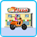 pizza delivery girl