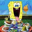 spongebob patty food