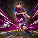Messi Penlaty Soccer