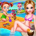 Baby Girl Summer Fun
