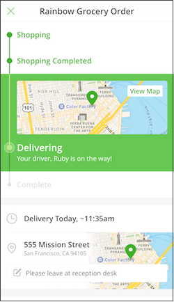 Instacart Help Center - Delivery