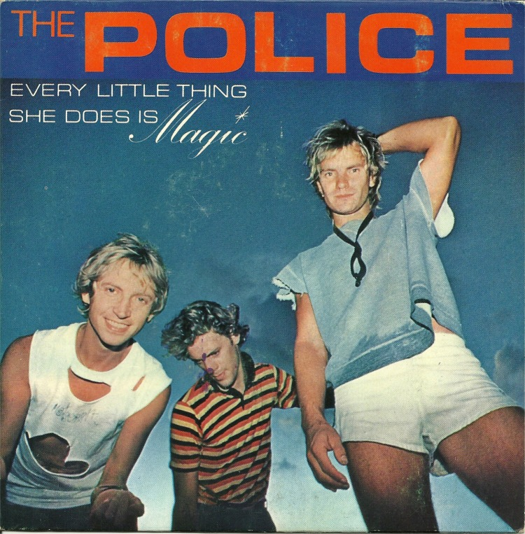 The police every little thing she does is magic am 7