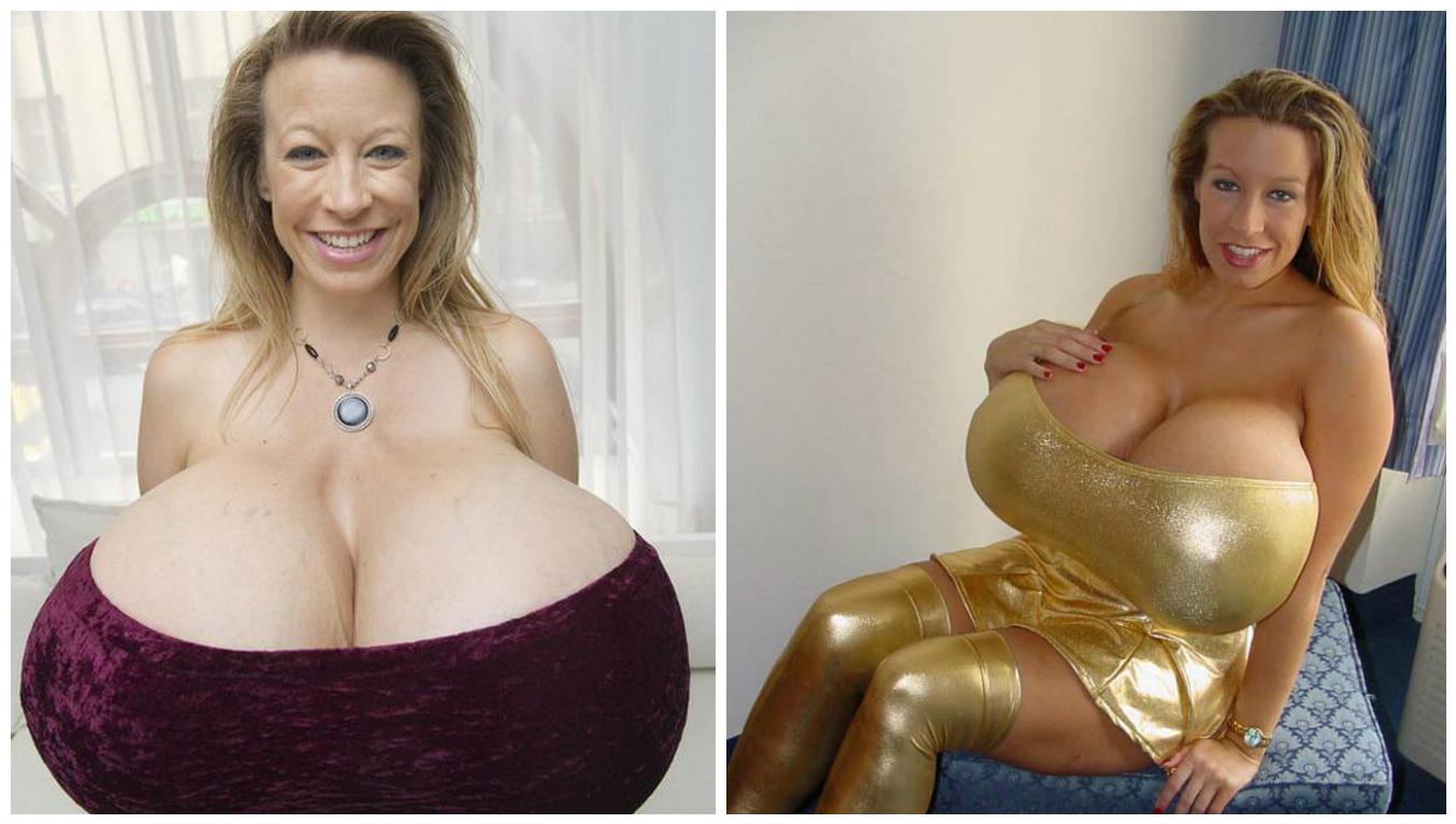 Best big fake tits in porn top