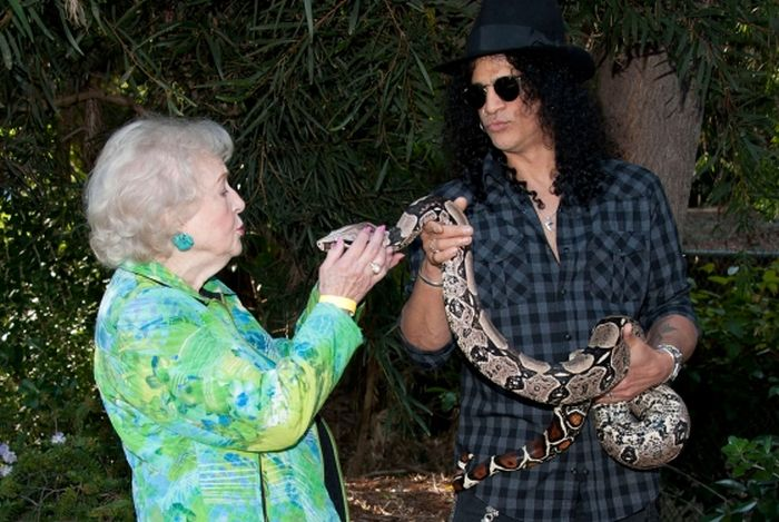 Slash's Pythons | 8 Weirdest Celebrity Pets | InstantHub