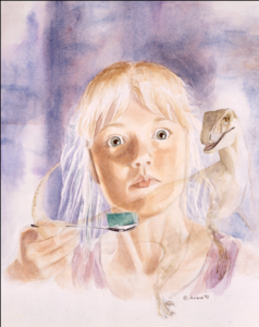 Ariana Richards self-portrait | Where The Jurassic Park Kids Are Now? | InstantHub