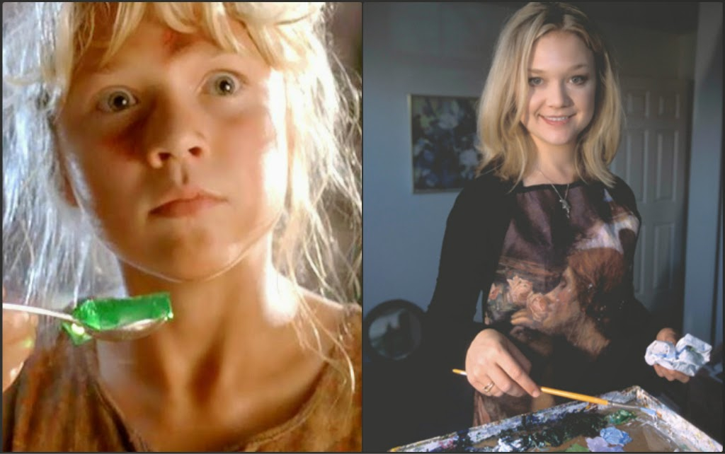 Ariana Richards gave up acting to be an artist | Where Are The Jurassic Park Kids Now? | InstantHub