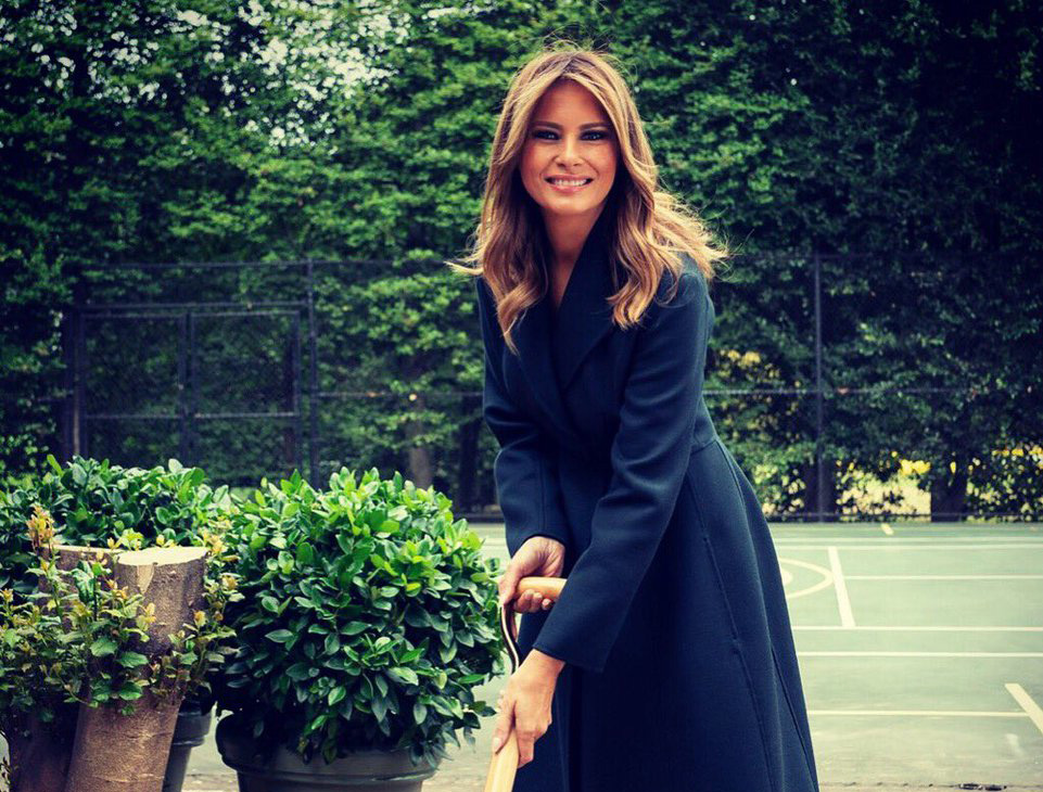 Serving It Up | How Melania Trump Stays Fit and Youthful at (Almost) 50 | InstantHub