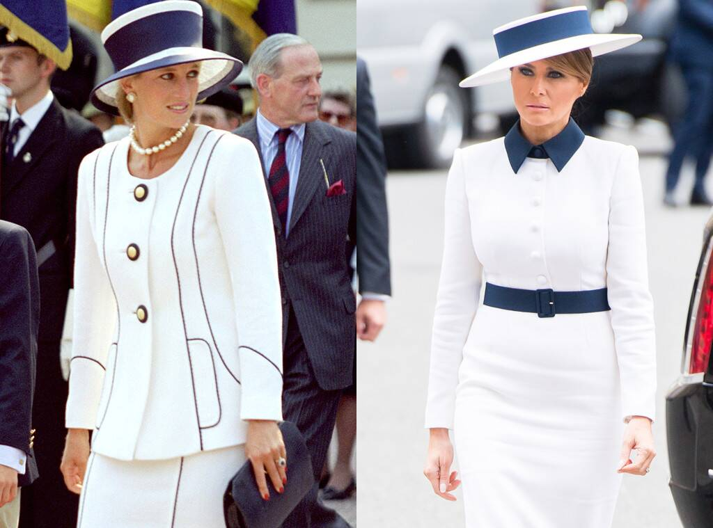 Stolen Royal Valor | Melania Trump's Most Controversial Fashion Statements | InstantHub