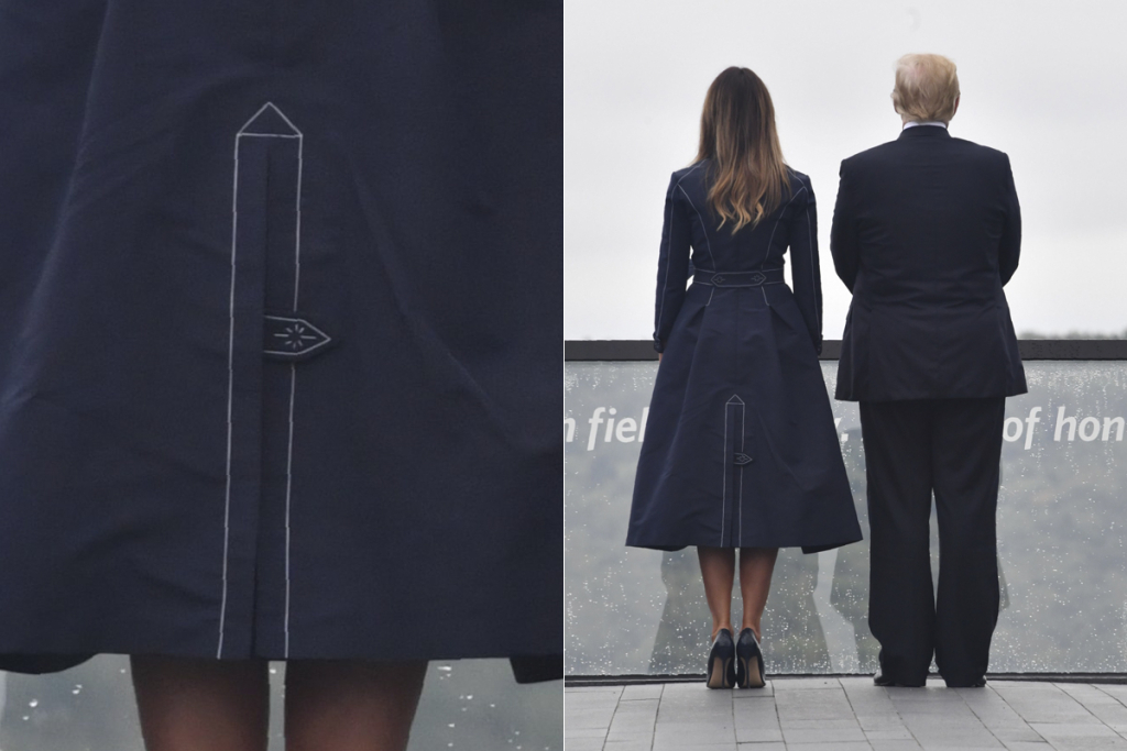 9/11 Coat Controversy | Melania Trump's Most Controversial Fashion Statements | InstantHub