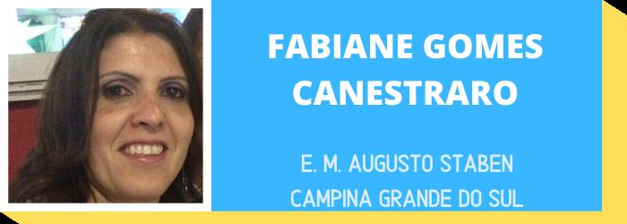 FABIANE GOMES CANESTRARO