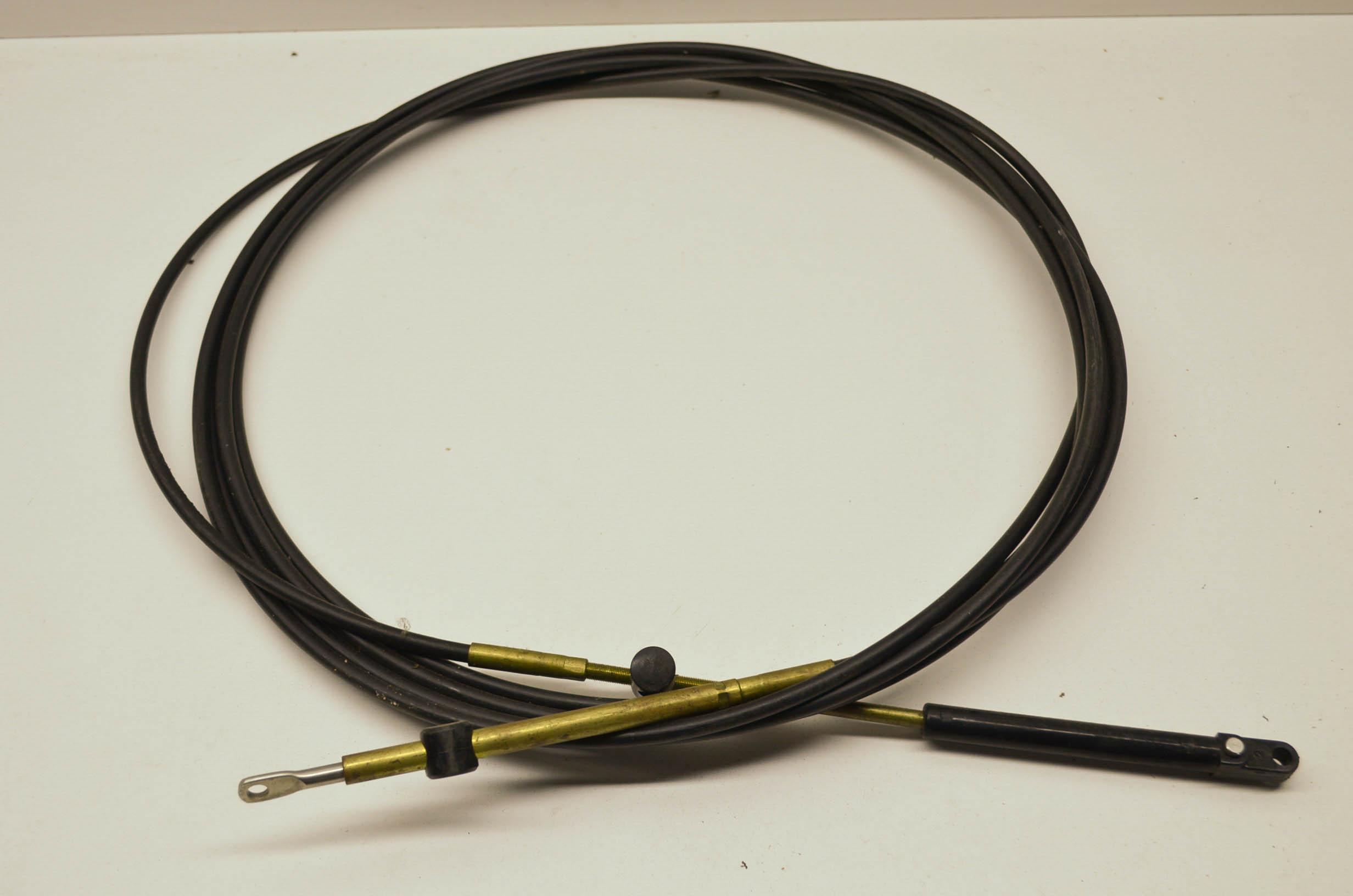 Morse Control Cables : New morse controls engine remote control cable nos