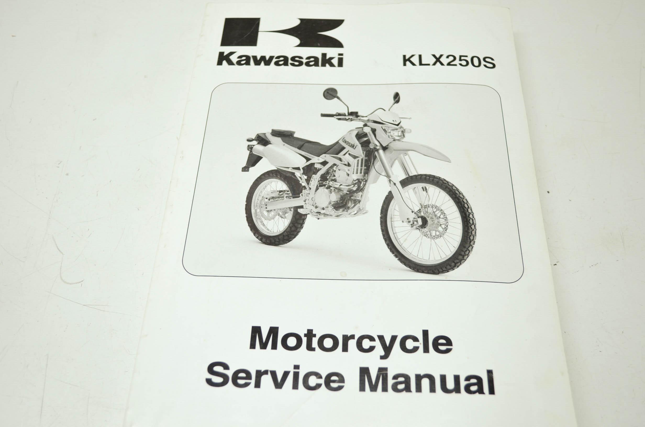 kawasaki klx250s service manual ebay rh ebay com Kawasaki Dual Sport Kawasaki  KLX 250 Review