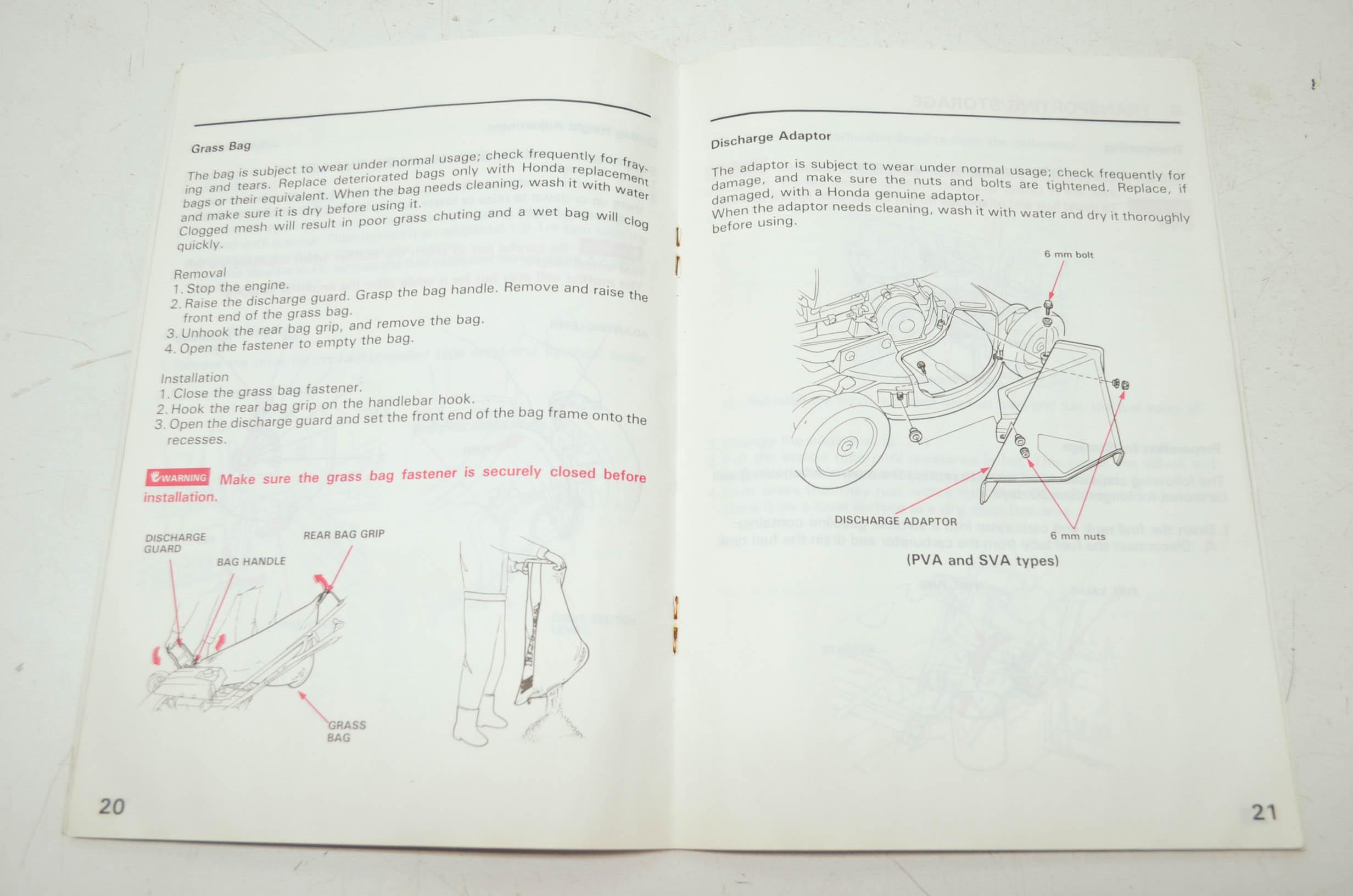Honda Harmony Hrm215 Carburetor Diagram Guide And Troubleshooting Mower User Manual Hrb215 Hrb216 Hrb217 Lawn Wheels
