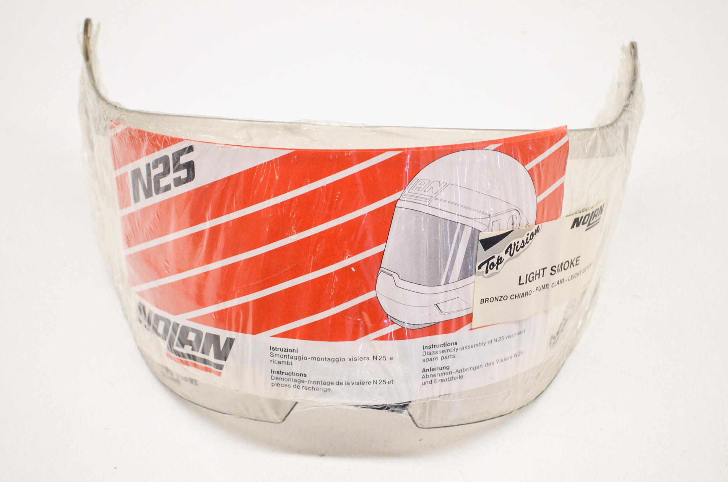 Details Shield Nos Face Smoke N-25 About Light N25 Nolan