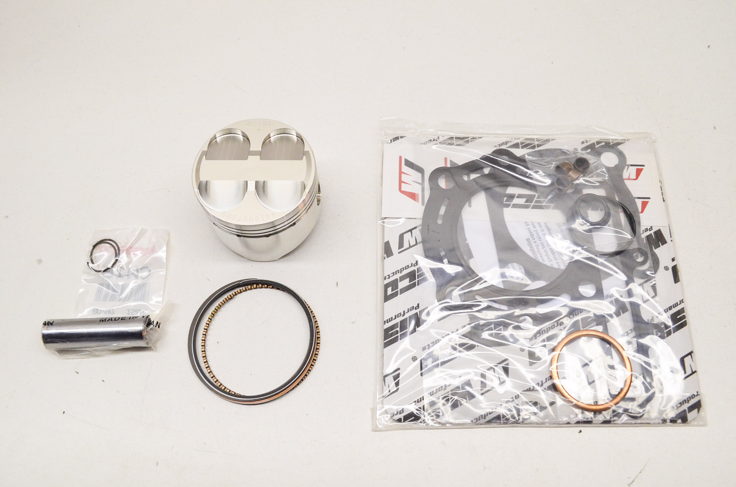 Wiseco Kawasaki KSF250 KSF 250 Mojave Piston Kit 75mm  Bore 1989-04