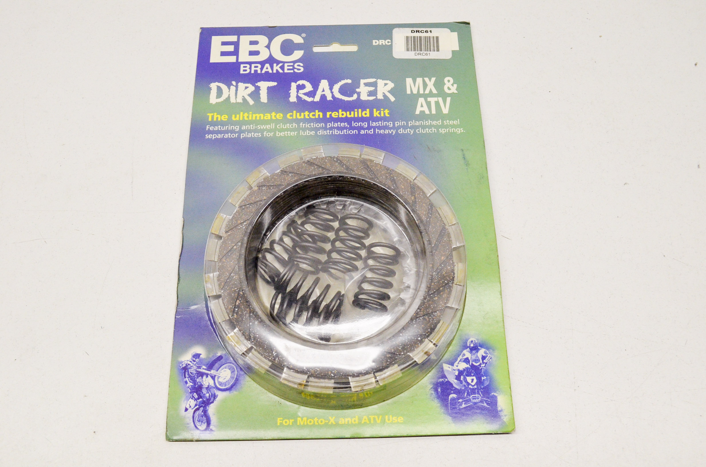 EBC Brakes DRC205 Dirt Racer Clutch