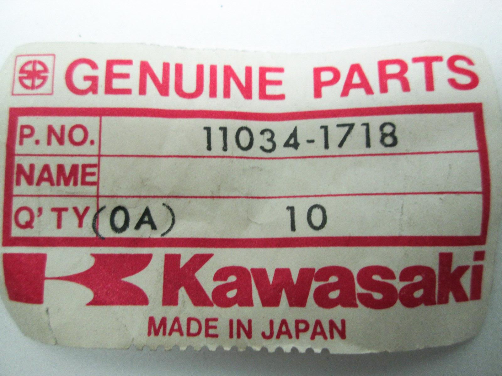 NOS 1980 Kawasaki KLX250 Headlamp Body Bracket 11034-1719