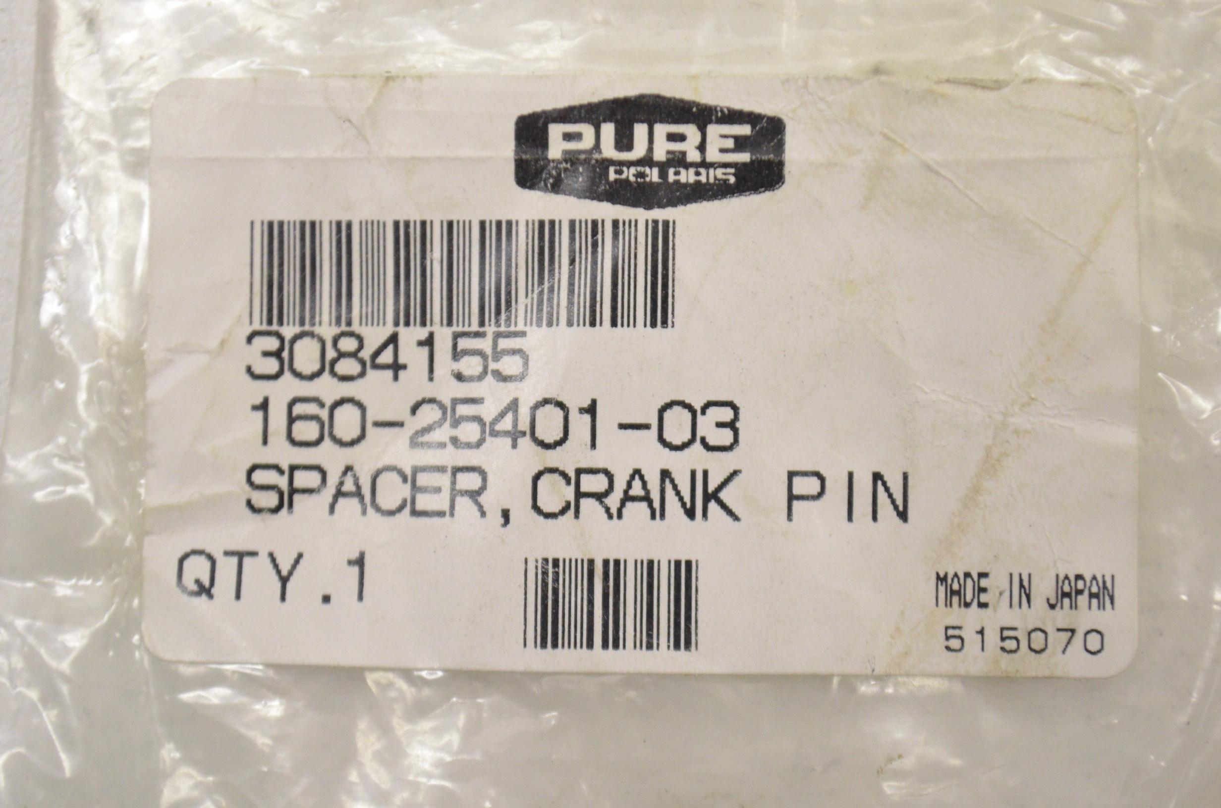Polaris New OEM Crank Pin Spacer 3084155 ATV, Side-by-Side & UTV ...
