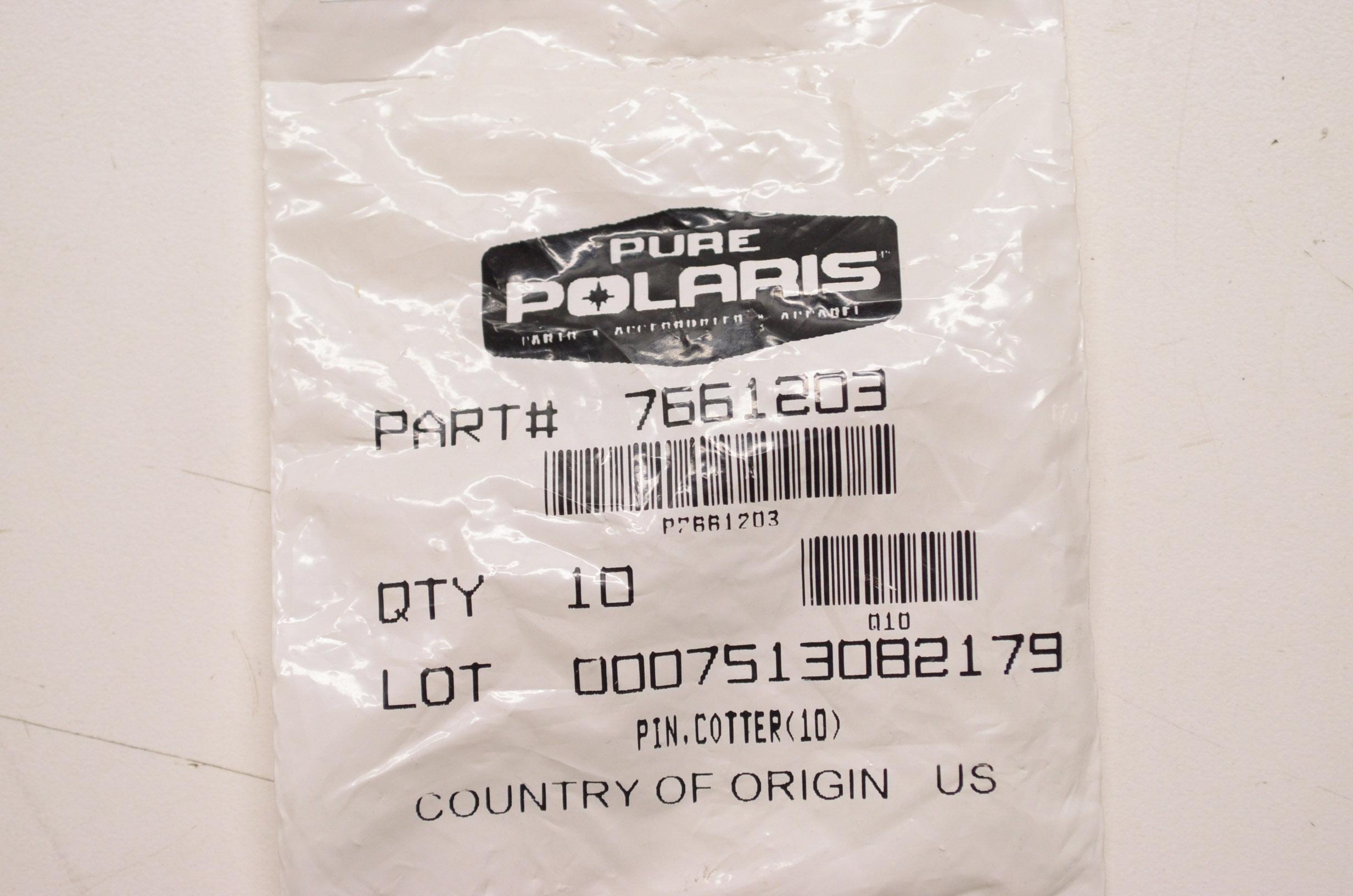 OEM Polaris 7661401 Cotter Pin NOS