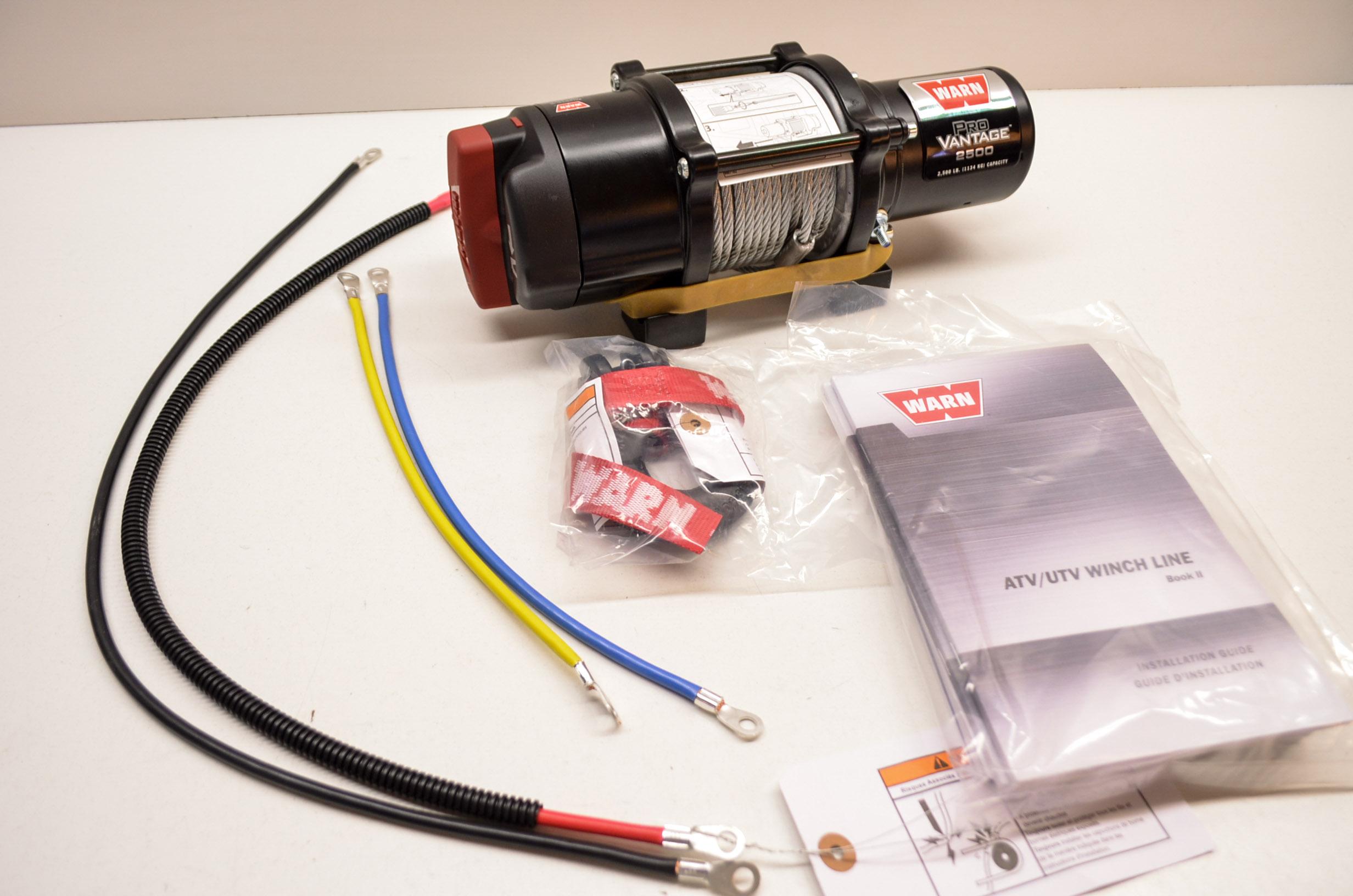 for atv winch wiring relay warn 2500 atv winch wiring new warn provantage 2500 atv winch nos | ebay
