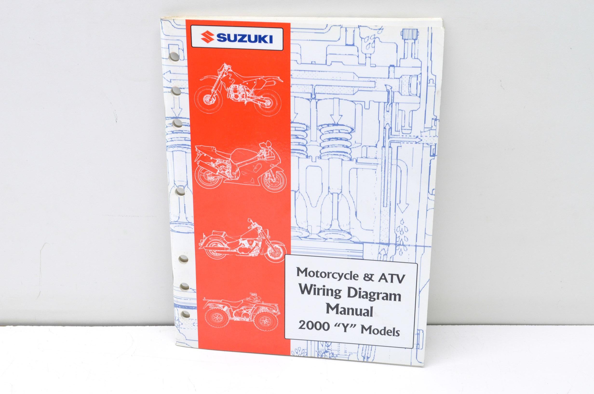 New Oem Suzuki Oem Suzuki Motorcycle  U0026 Atv Wiring Diagram