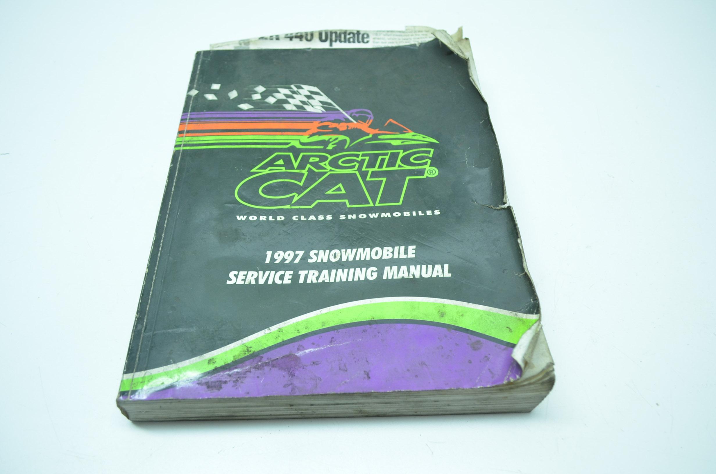 OEM Arctic Cat 1997 Snowmobile Service Training Manual 2255-572
