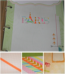Washi Tape in Scrapbooks