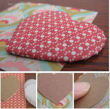 Paper Quilted Heart