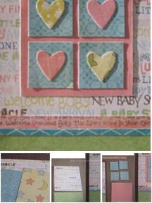 Baby Hearts Card
