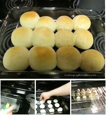 Baking Frozen Rolls Quick