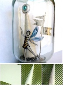 Altered Mason Jar