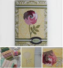 Folded Iris Card