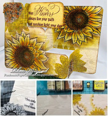 Jumbo Sunflower Card