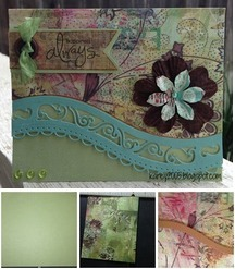 Curved Border Card