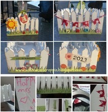 Picket Fence Container