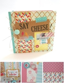 Washi Bound Mini Album