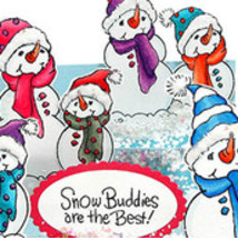 Christmas Build a Snowman