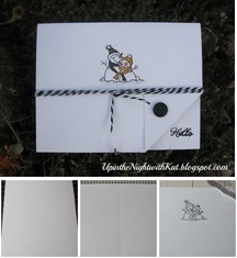 IA Hawk Snowman Card