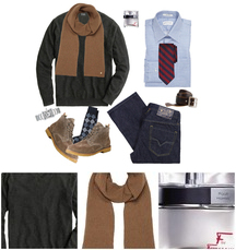 Winter Outfit 1 - Men