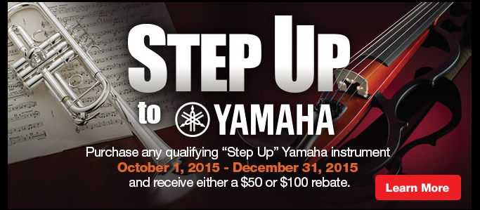 Step Up to Yamaha