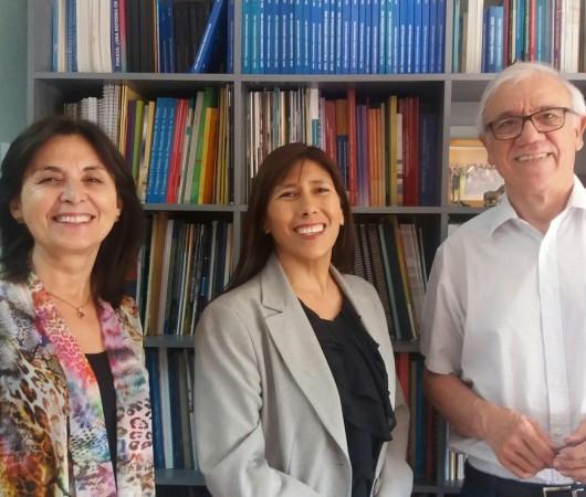 Secretaria Ejecutiva de Elige Vivir Sano en Comunidad visita el INTA