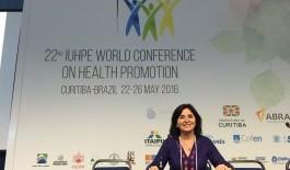 Directora PROEPSA participa en 22ª Conferencia Mundial de Promoción